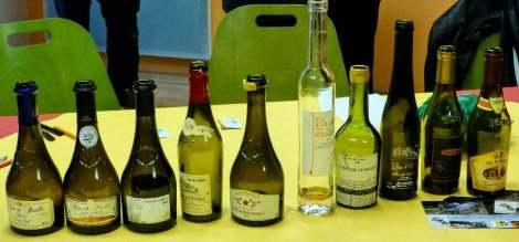 Vin de Paille bottles