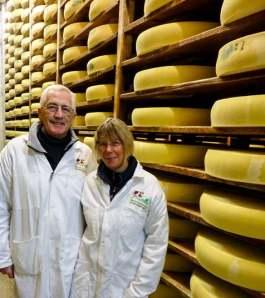 Comté cheese ageing
