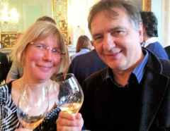 Wink Lorch and Raymond Blanc
