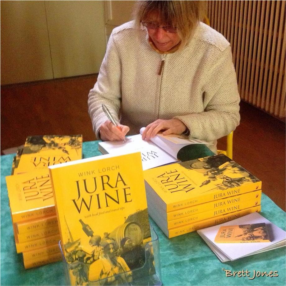 Jura wine book signing