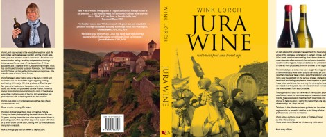 Jura Wine book by Wink Lorch