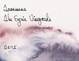 Trousseau - Eyrie Vineyards label