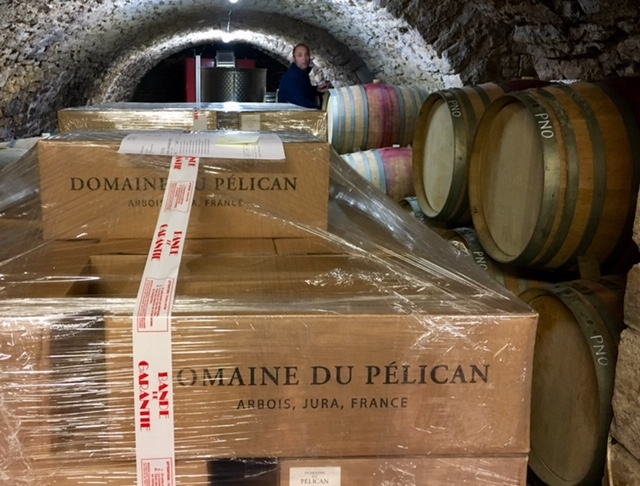 Dom du Pelican cellars 2020